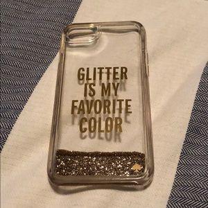 Kate Spade Glitter iPhone 6/7 Case